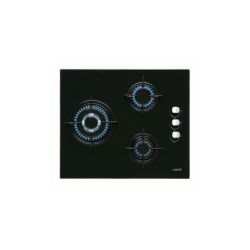 Placa Cristal Gas Cata CI 6021 BK